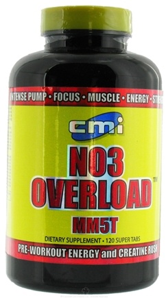 DROPPED: CMI Nutrition - NO3 Overload MM5T - 120 Tablets