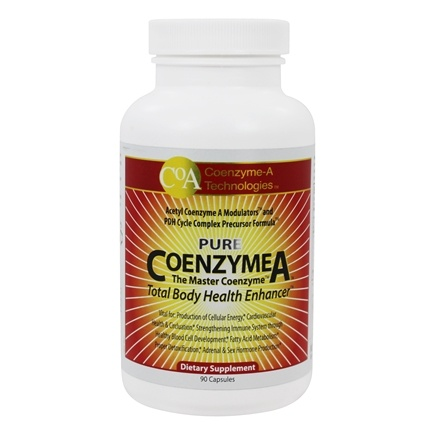 Coenzyme-A Technologies - Coenzyme A The Master Coenzyme - 90 Capsules