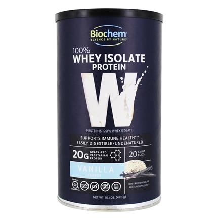 Biochem by Country Life - 100% Whey Protein Powder Vanilla - 14.9 oz.