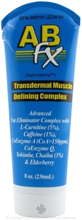 DROPPED: Body-FX - AB-FX Transdermal Muscle Defining Complex (Xephoniphonyl TM) - 8 oz. CLEARANCE PRICED