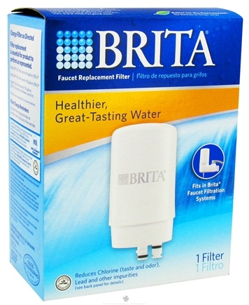 DROPPED: Brita - On Tap Faucet Replacement Water Filter White - 1 Filter(s) CLEARANCE PRICED