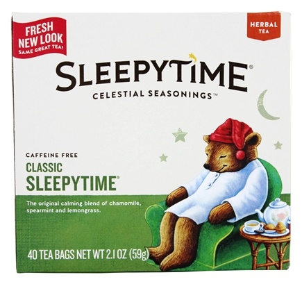 Celestial Seasonings - Sleepytime Herb Tea - 40 Tea Bags