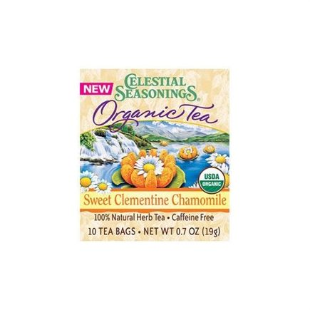 DROPPED: Celestial Seasonings - Organic Sweet Clementine Chamomile Tea