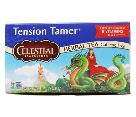 Celestial Seasonings - Tension Tamer Herbal Tea - 20 Tea Bags