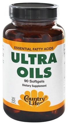 DROPPED: Country Life - Ultra Oils Essential Fatty Acids - 90 Softgels