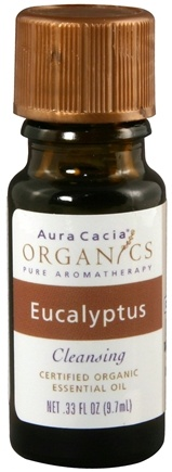 DROPPED: Aura Cacia - Essential Oil Organic Eucalyptus - 0.33 oz.