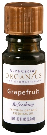 DROPPED: Aura Cacia - Organic Grapefruit Essential Oil - 0.33 oz. CLEARANCE PRICED