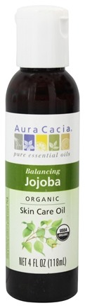 Aura Cacia - Certified Organic Skin Care Oil Jojoba - 4 oz.