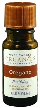 DROPPED: Aura Cacia - Essential Oil Organic Oregano CLEARANCE PRICED - 0.33 oz.
