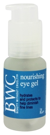Beauty Without Cruelty - Eye Gel Nourishing - 1 oz.