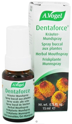 DROPPED: A.Vogel - Dentaforce Herbal Mouth Spray - 0.5 oz.