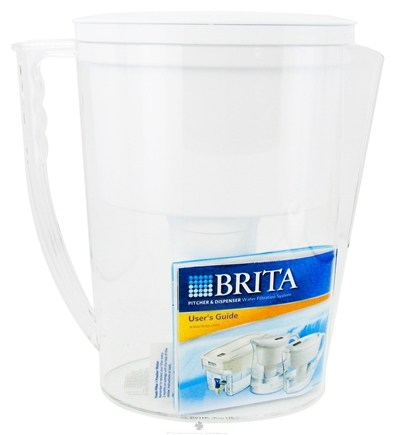 DROPPED: Brita - Pitcher Water Filtration System Slim Model - 40 oz.