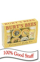 DROPPED: Burt's Bees - Essential Body Kit