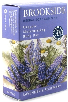 DROPPED: Brookside - Herbal Soap Lavender & Rosemary - 4 oz.