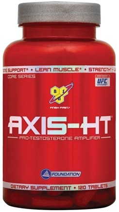 DROPPED: BSN - Axis HT Pro-Testosterone Amplifier - 120 Tablets