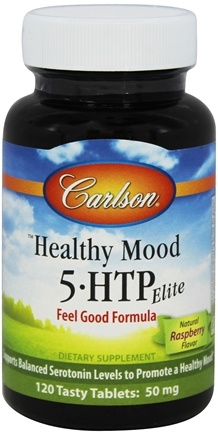 DROPPED: Carlson Labs - Healthy Mood 5-HTP Elite 50 mg. - 120 Tablets