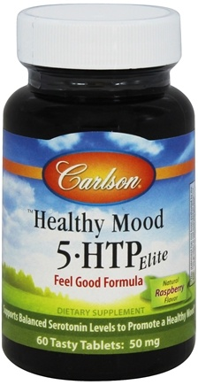 DROPPED: Carlson Labs - Healthy Mood 5-HTP Elite 50 mg. - 60 Tablets CLEARANCE PRICED