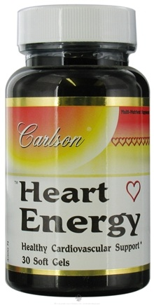 DROPPED: Carlson Labs - Heart Energy - 30 Softgels
