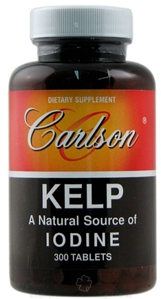 DROPPED: Carlson Labs - Kelp Natural Source of Iodine - 300 Tablets