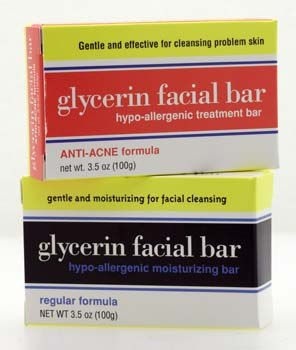 DROPPED: Clearly Natural - Glycerine Facial Soap Bars Regular Formula