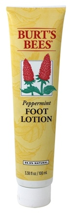 Burt's Bees - Foot Lotion Peppermint - 3.38 oz.