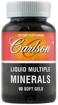 DROPPED: Carlson Labs - Liquid Multiple Minerals - 90 Softgels