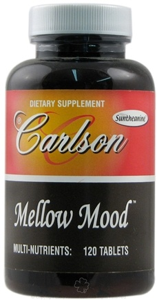 DROPPED: Carlson Labs - Mellow Mood - 120 Tablets
