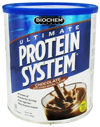 DROPPED: Biochem by Country Life - Ultimate Protein System Chocolate - 2 lbs. CLEARANCE PRICED