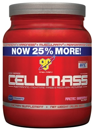DROPPED: BSN - Cellmass Post-Training Recovery Activator Arctic Berry - 1.76 lbs. CLEARANCE PRICED