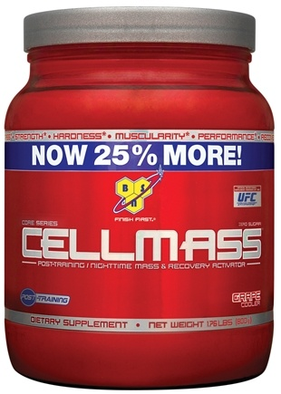 DROPPED: BSN - Cellmass Post-Training Recovery Activator Grape Cooler - 1.76 lbs. CLEARANCE PRICED