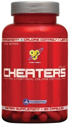 DROPPED: BSN - Cheaters Relief - 120 Capsules CLEARANCE PRICED