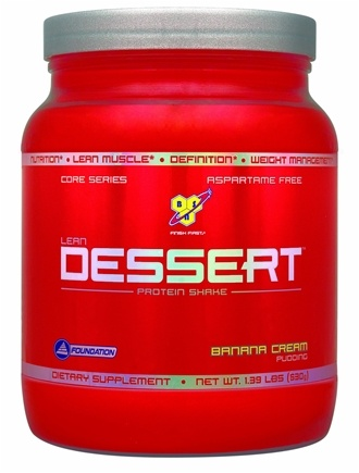 DROPPED: BSN - Lean Dessert Protein Shake Banana Cream Pudding - 1.39 lbs.
