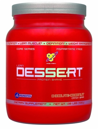 DROPPED: BSN - Lean Dessert Protein Shake Chocolate-Coconut Candy Bar - 1.39 lbs.
