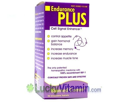 DROPPED: Biomed Comm - Endurance Plus Cell Signal Enhancer - 90 Chewable Tablets