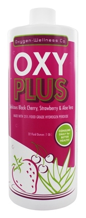O-W & Company - Oxy Plus Black Cherry & Strawberry - 32 oz.