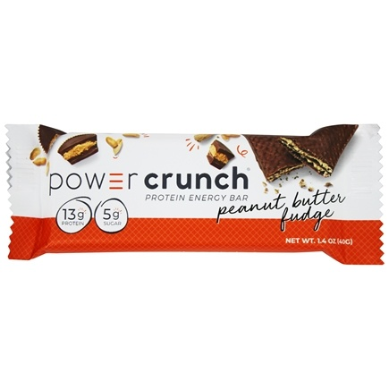 BioNutritional Research Group - Power Crunch High Protein Energy Wafer Bar Peanut Butter Fudge - 1.4 oz.