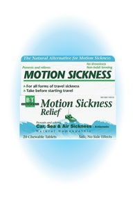 DROPPED: Boericke & Tafel - Motion Sickness Relief - 20 Tablets
