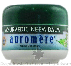 DROPPED: Auromere - Ayurvedic Neem Balm - 2 oz. CLEARANCED PRICED
