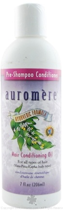 DROPPED: Auromere - Ayurvedic Pre Shampoo Conditioner - 7 oz. CLEARANCE PRICED