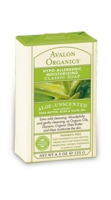 DROPPED: Avalon Organics - Moisturizing Classic Soap Aloe-Unscented - 4.5 oz.