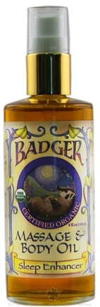 DROPPED: Badger - Sleep Enhancer Massage & Body Oil - 4 Oz.
