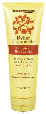DROPPED: Better Botanicals - Botanical Body Lotion - 8 oz. CLEARANCE PRICED