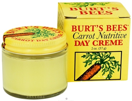 DROPPED: Burt's Bees - Carrot Nutritive Day Creme - 2 oz.