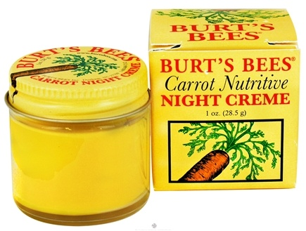 DROPPED: Burt's Bees - Carrot Nutritive Night Creme - 1 oz.