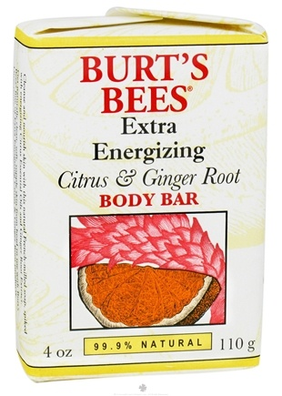 DROPPED: Burt's Bees - Body Bar Extra Energizing Citrus & Ginger Root - 4 oz.