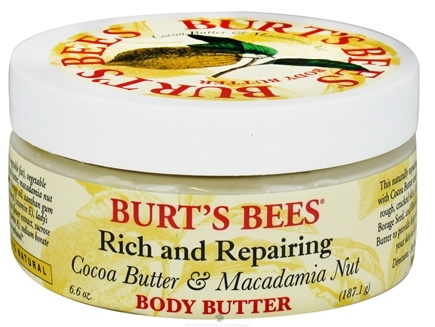 DROPPED: Burt's Bees - Body Butter Rich and Repairing Cocoa Butter & Macadamia Nut - 6.6 oz.