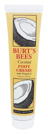 DROPPED: Burt's Bees - Foot Cream with Vitamin E Coconut - 4.34 oz.