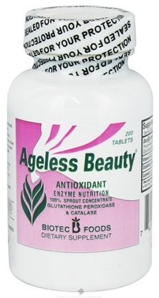 DROPPED: Biotec Foods - Ageless Beauty - 200 Tablets CLEARANCE PRICED