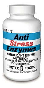 DROPPED: Biotec Foods - Anti-Stress Enzymes - 100 Tablets