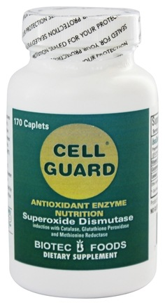Biotec Foods - Cell Guard Antioxidant Enzyme - 170 Caplets